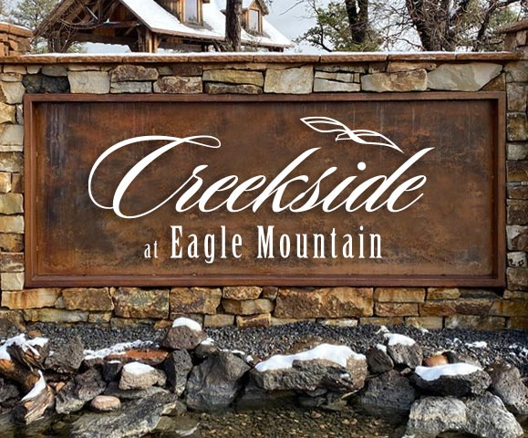 Creekside at Eagle Mountain Sign