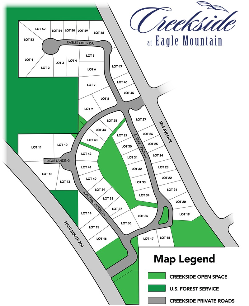 creekside project map